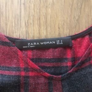 Zara Dresses - Zara Plaid Tank Slip Dress